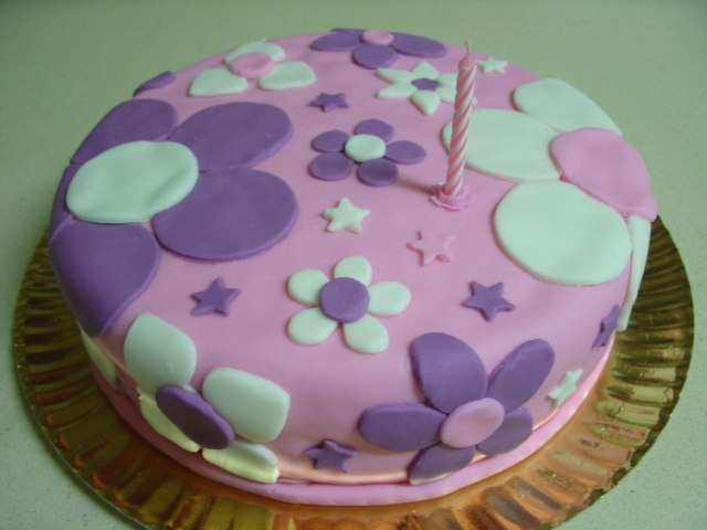 Рецепт торта из мастики с фото