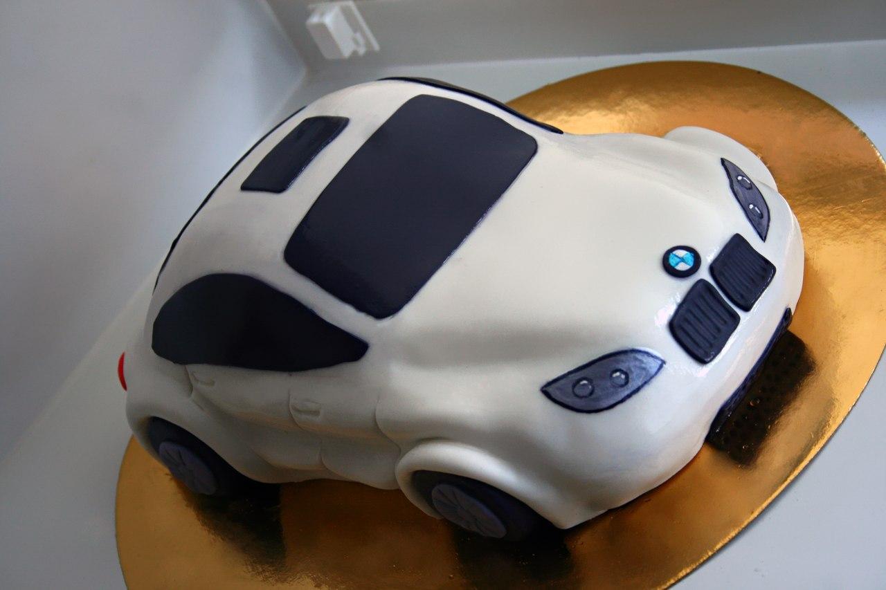 Торт в виде машины мастер класс фото
